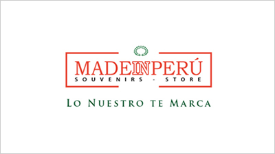Logo Made in Perú - Souvenirs Store